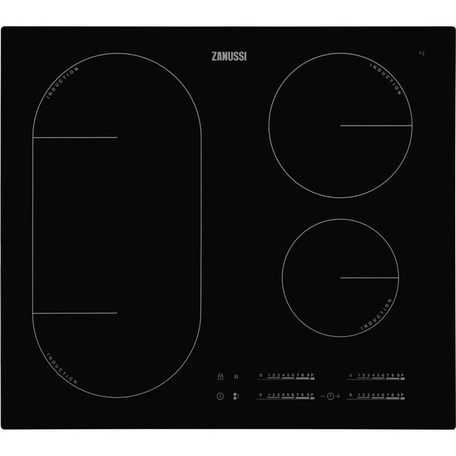 Zanussi ZIL6470CB Built In Induction Hob - Black - ZIL6470CB_BK - 1