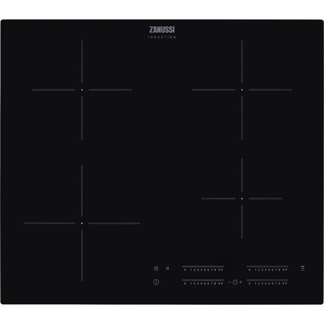 Zanussi ZITN644K 59cm Induction Hob – Black