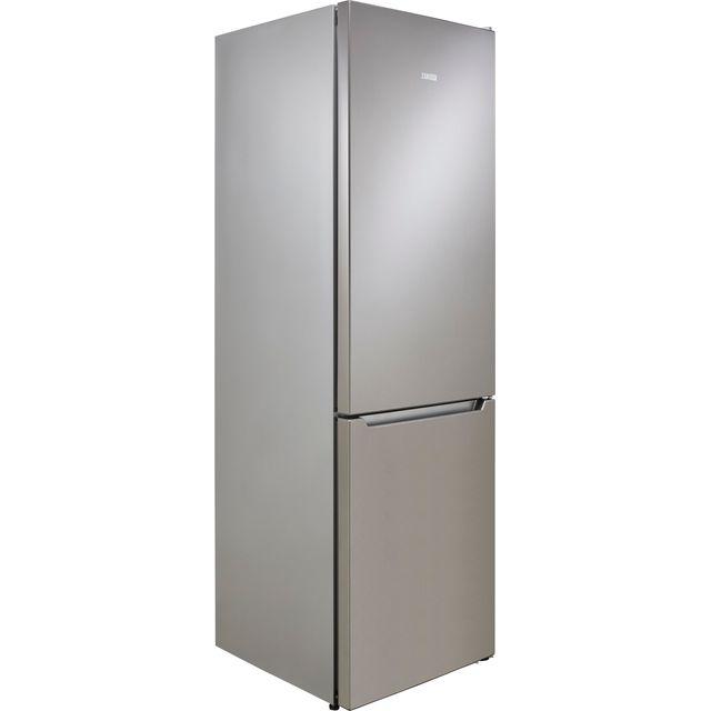 Zanussi ZNME32FU0 60/40 Frost Free Fridge Freezer - Silver - F Rated