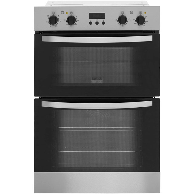 Top Rated Built In Ovens ~ Zanussi zod dx built in electric double oven cm