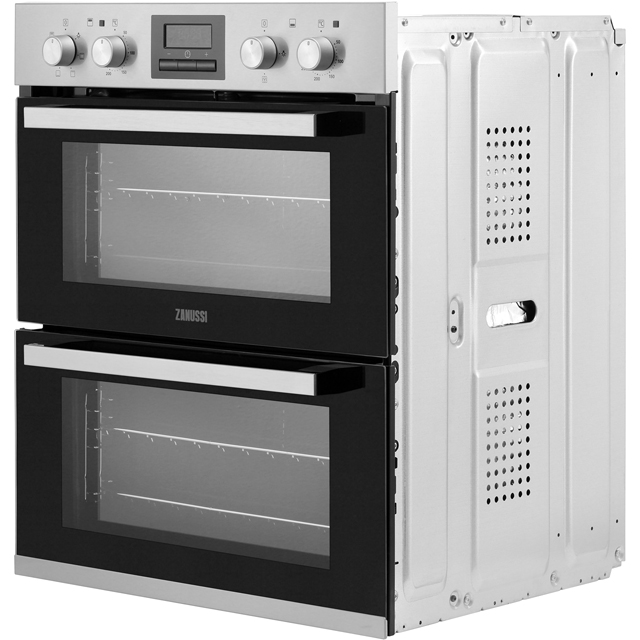 Zanussi ZOF35601XK Built Under Double Oven - Stainless Steel - ZOF35601XK_SS - 5