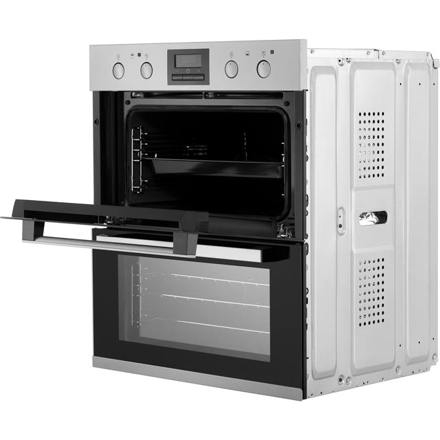 Zanussi ZOF35802XK Built Under Double Oven - Stainless Steel - ZOF35802XK_SS - 3