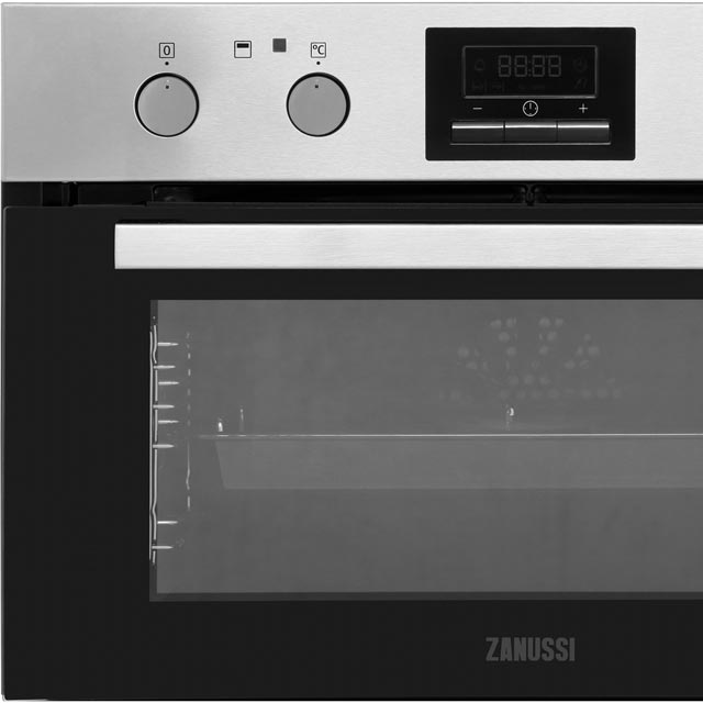 Zanussi ZOF35802XK Built Under Double Oven - Stainless Steel - ZOF35802XK_SS - 5