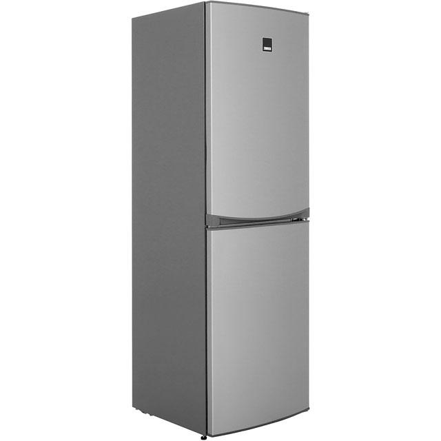 Zanussi Free Standing Fridge Freezer Frost Free in Stainless Steel