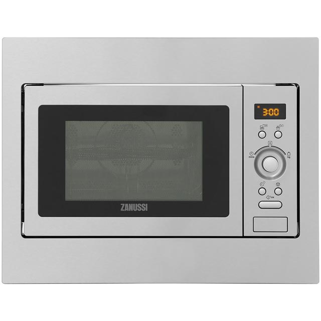 Zanussi Built In Combination Microwave Oven - Stainless Steel