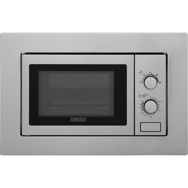 Zanussi ZSM17100XA Built In Conventional Microwave Oven - Stainless Steel