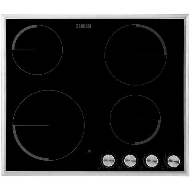 Zanussi Integrated Electric Hob in Black