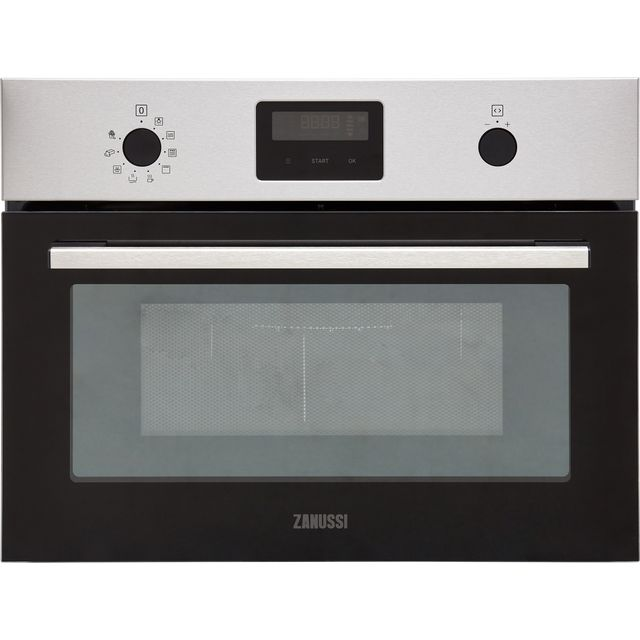 Zanussi ZVENW6X1 Built In Microwave With Grill - Stainless Steel