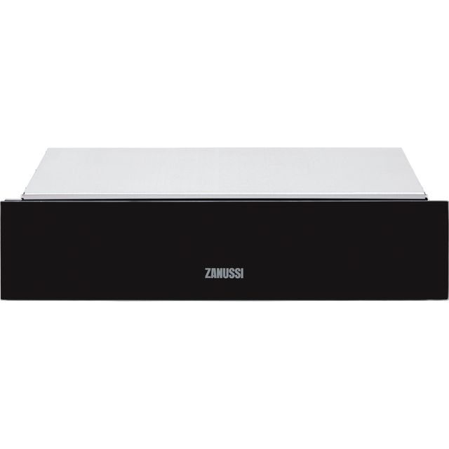 Zanussi ZWD141K Built In Warming Drawer - Black - ZWD141K_BK - 1