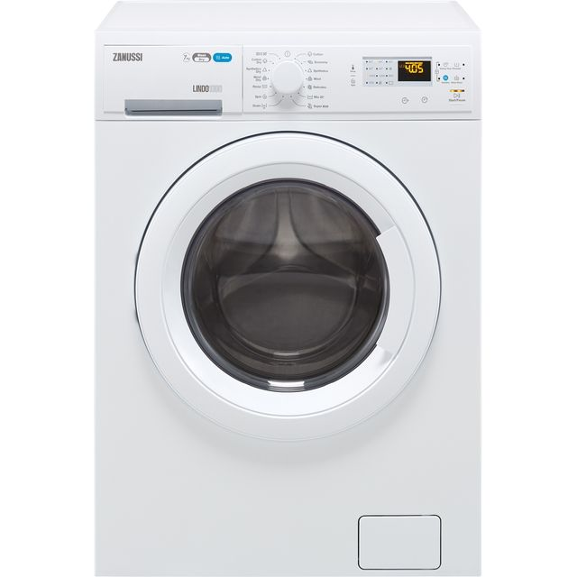 Zanussi Lindo1000 ZWD71460NW 7Kg / 4Kg Washer Dryer with 1400 rpm - White - B Rated - ZWD71460NW_WH - 1