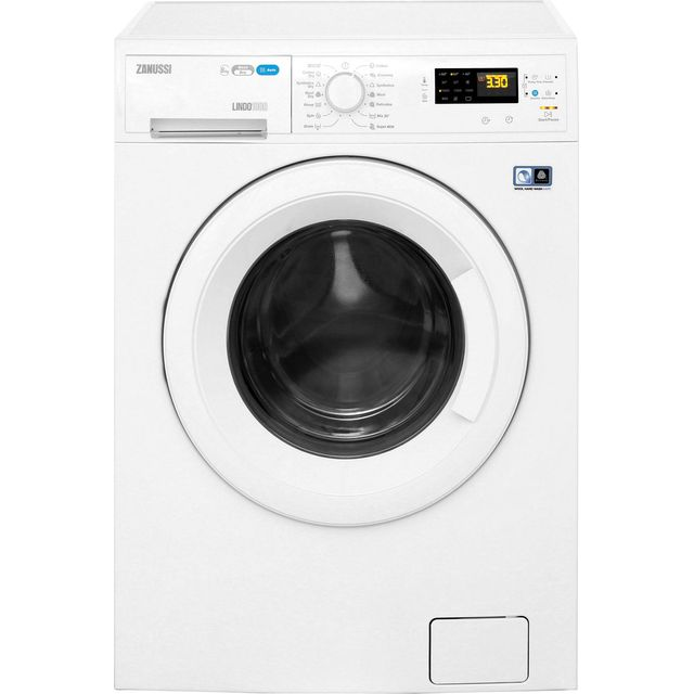 Zanussi Lindo1000 ZWD81663NW 8Kg / 4Kg Washer Dryer with 1550 rpm - White - ZWD81663NW_WH - 1