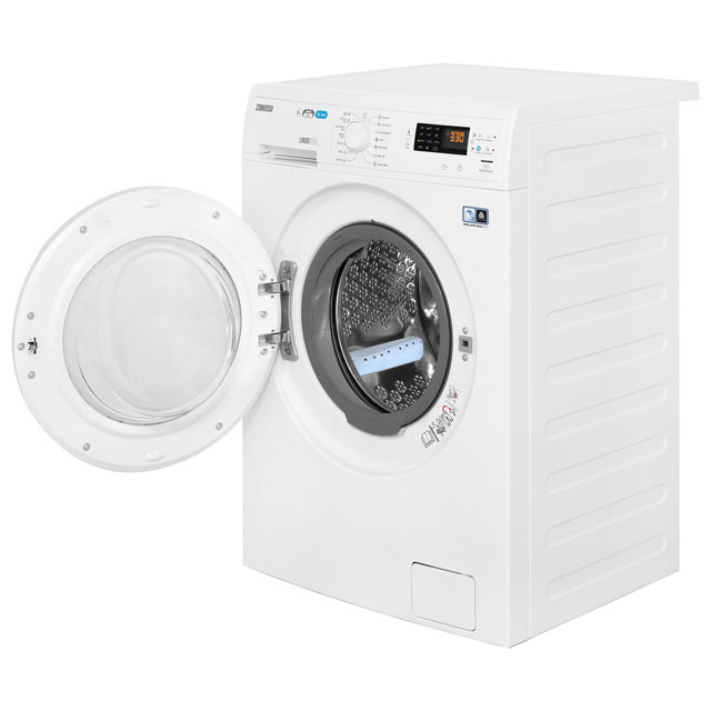Zanussi Lindo1000 ZWD81663NW 8Kg / 4Kg Washer Dryer with 1550 rpm - White - ZWD81663NW_WH - 2