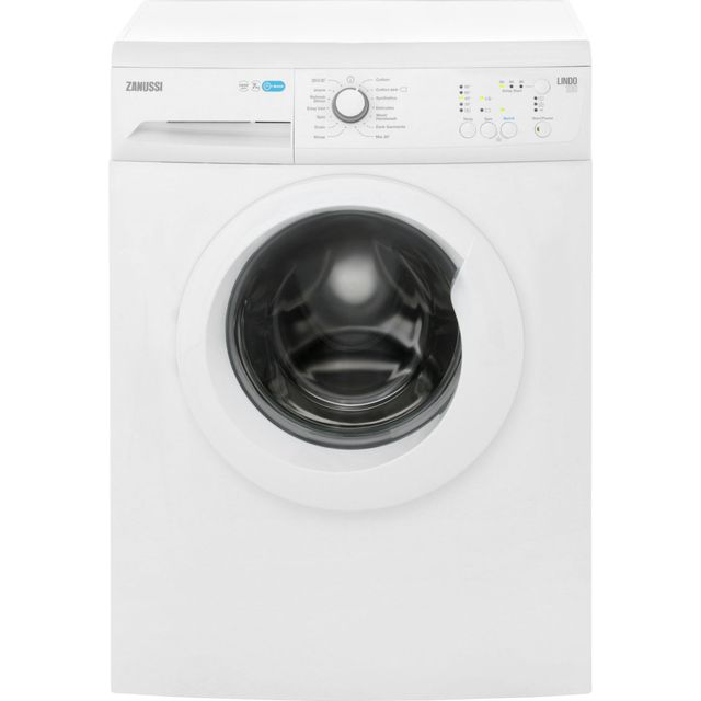 Zanussi Lindo100 ZWF71440W 7Kg Washing Machine with 1400 rpm - White - A+++ Rated - ZWF71440W_WH - 1
