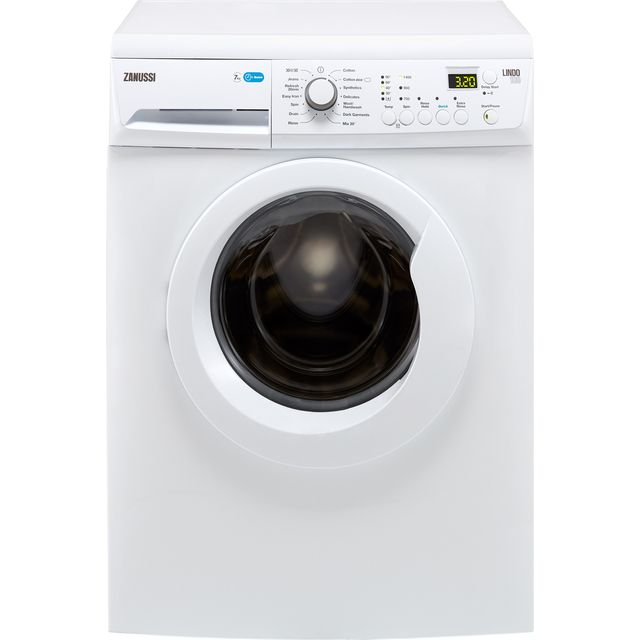 Zanussi Lindo100 ZWF71443W 7Kg Washing Machine with 1400 rpm - White - A+++ Rated - ZWF71443W_WH - 1