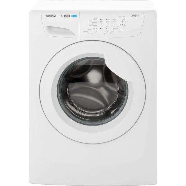 Zanussi Lindo300 ZWF81460W 8Kg Washing Machine with 1400 rpm - White - A+++ Rated - ZWF81460W_WH - 1