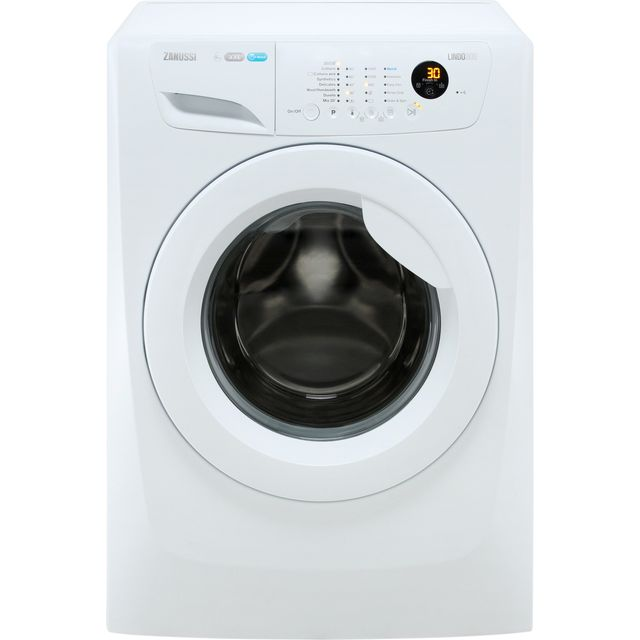 Zanussi Lindo300 ZWF81463W 8Kg Washing Machine with 1400 rpm - White - A+++ Rated - ZWF81463W_WH - 1