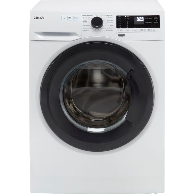 Zanussi ZWF943A2DG 9Kg Washing Machine with 1400 rpm - White - C Rated