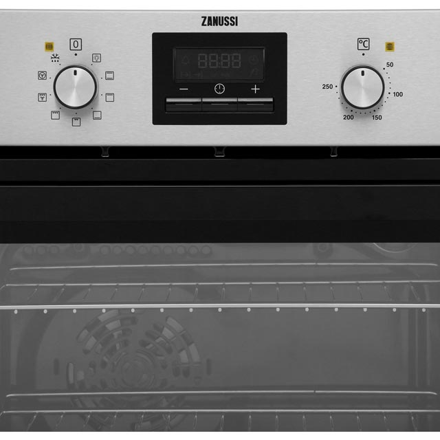 Zanussi ZZB35901XC Built In Electric Single Oven - Stainless Steel - ZZB35901XC_SS - 4