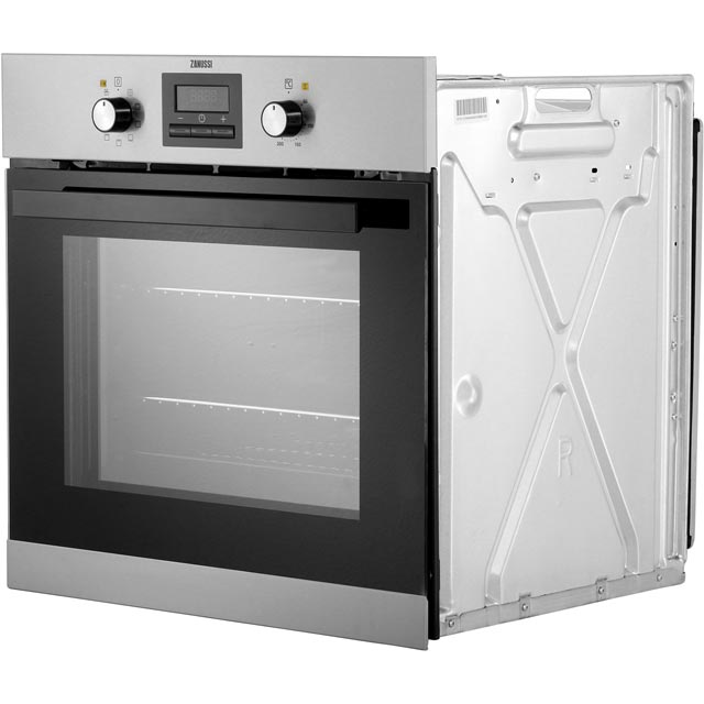 Zanussi ZZB35901XC Built In Electric Single Oven - Stainless Steel - ZZB35901XC_SS - 5