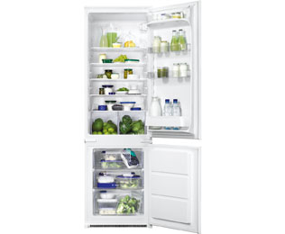 Zanussi ZBB28442SA Built In Fridge Freezer - Silver