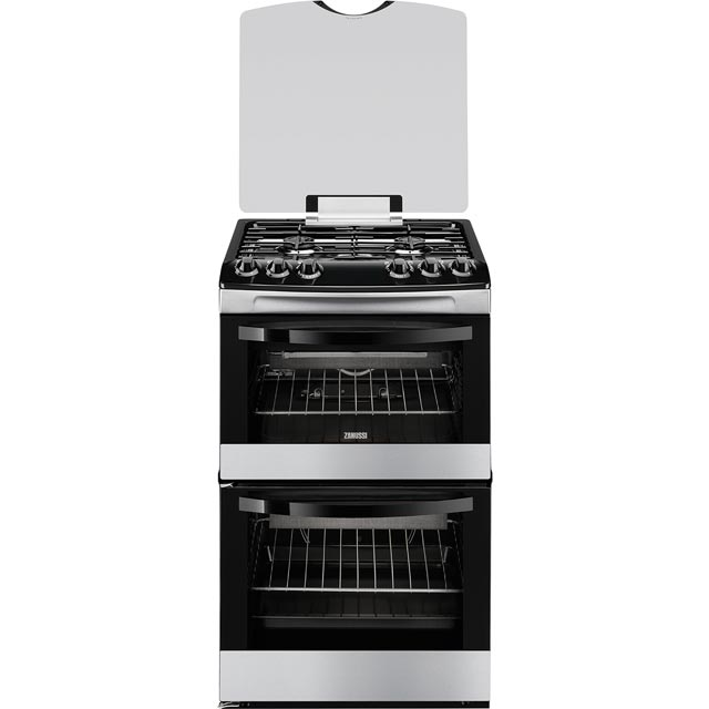 Zanussi Avanti ZCG43000XA Gas Cooker with Variable Gas Grill - Stainless Steel - A/A Rated