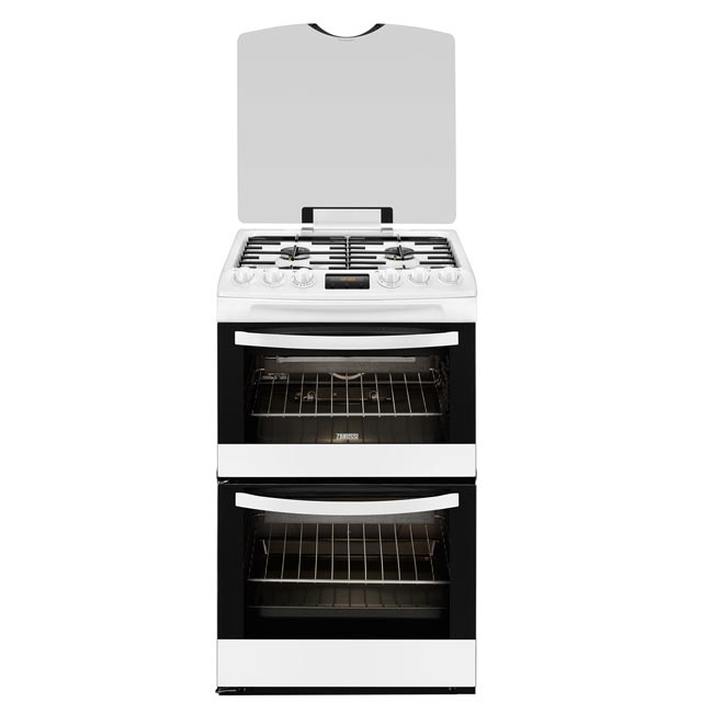 Zanussi Avanti 55cm Gas Cooker - White - A/A Rated