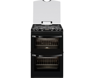 Zanussi Avanti Gas Cooker - Black - A/A Rated