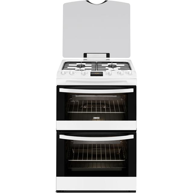 Zanussi Avanti Gas Cooker - White - A/A Rated