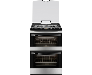 Zanussi Avanti Gas Cooker - Stainless Steel - A/A Rated