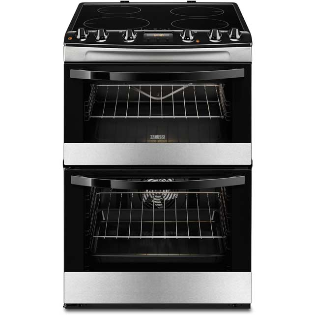 Zanussi Avanti ZCI68310XA Electric Cooker with Induction Hob - Stainless Steel - A/A Rated