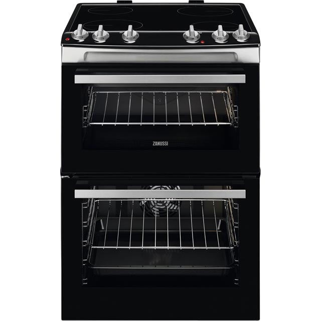 Zanussi ZCV66080XV Electric Cooker - Stainless Steel - ZCV66080XV_SS - 1