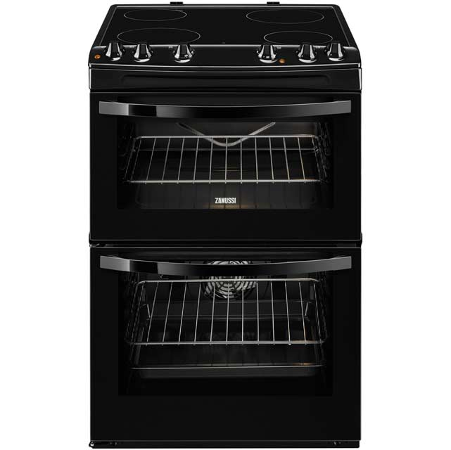 Zanussi Avanti ZCV680DOBA Electric Cooker with Ceramic Hob - Black - A/A Rated