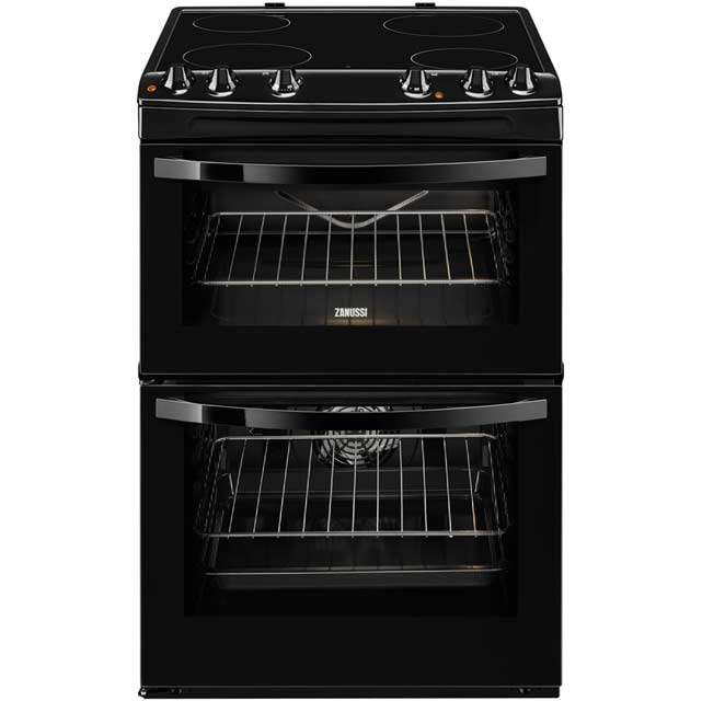 Zanussi Avanti ZCV680TCBA Electric Cooker with Ceramic Hob - Black - A/A Rated