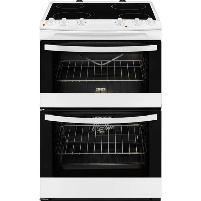 Zanussi Avanti ZCV680TCWA Electric Cooker with Ceramic Hob - White - A/A Rated