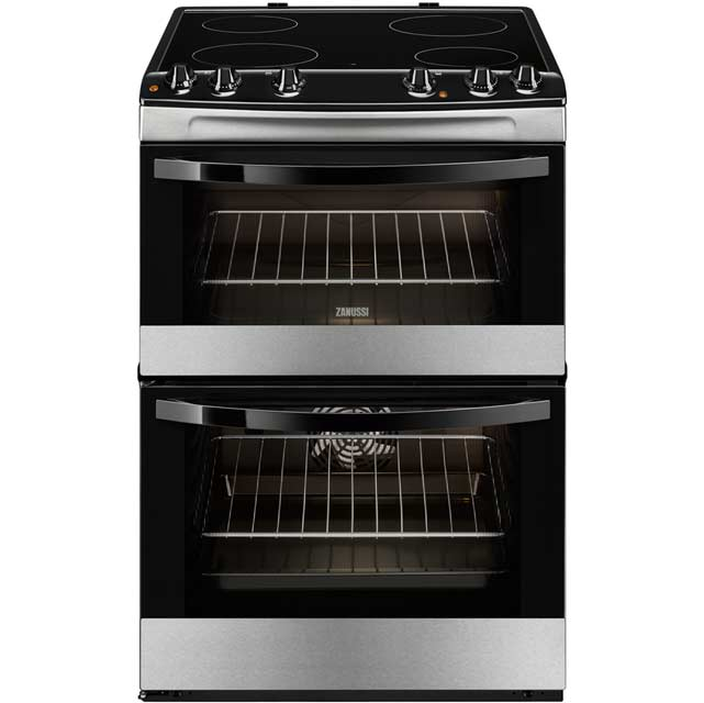 Zanussi Avanti ZCV680TCXA Electric Cooker with Ceramic Hob - Stainless Steel - A/A Rated