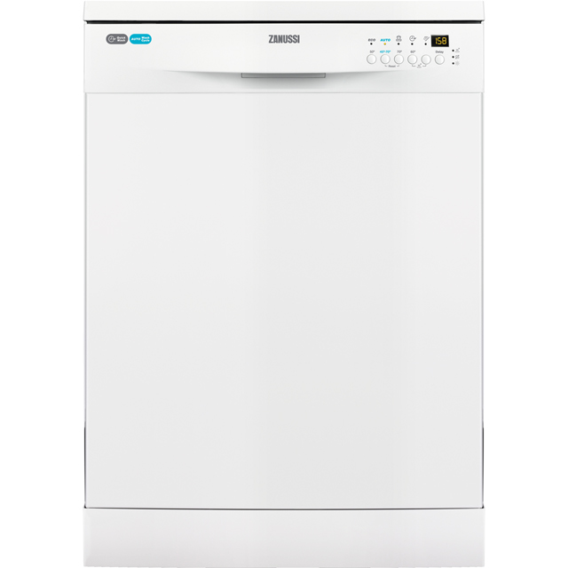 Zanussi ZDF26004WA Standard Dishwasher - White - A+ Rated Best Price, Cheapest Prices