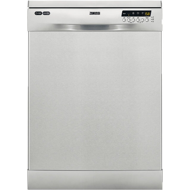 Zanussi ZDF26004XA Standard Dishwasher - Stainless Steel Best Price, Cheapest Prices