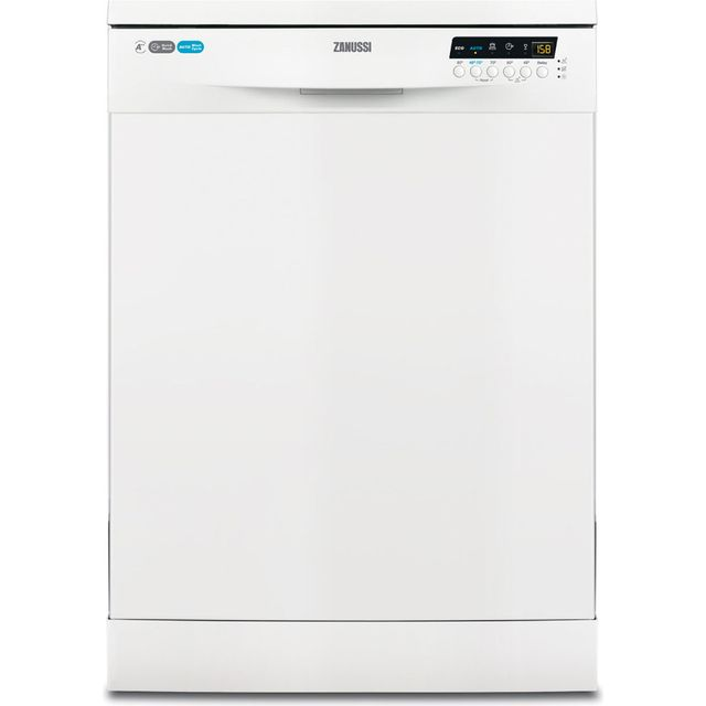 Zanussi ZDF26020WA Standard Dishwasher - White - A++ Rated - ZDF26020WA_WH - 1