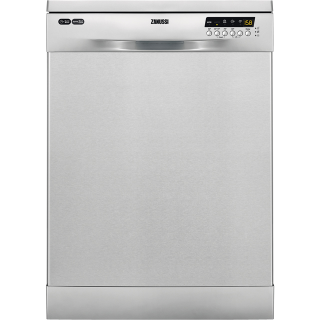 Zanussi ZDF36001XA Standard Dishwasher - Stainless Steel - A++ Rated