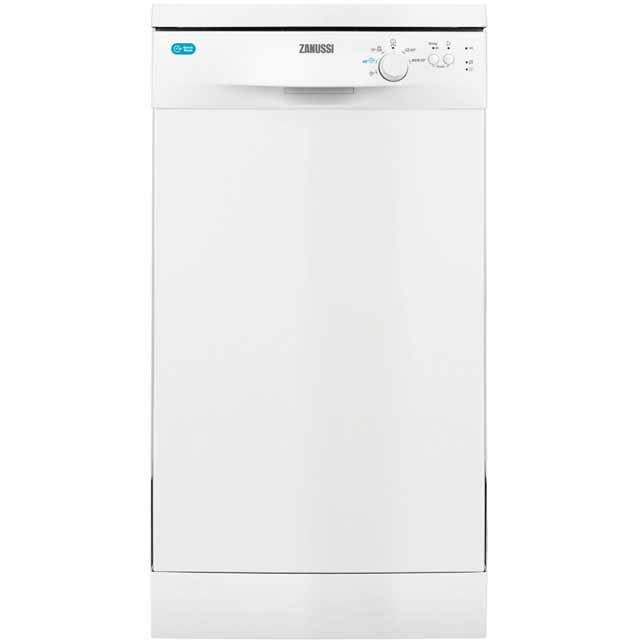 Zanussi Slimline Dishwasher - White - A+ Rated