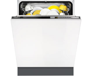 Zanussi ZDT26010FA Fully Integrated Standard Dishwasher - Black