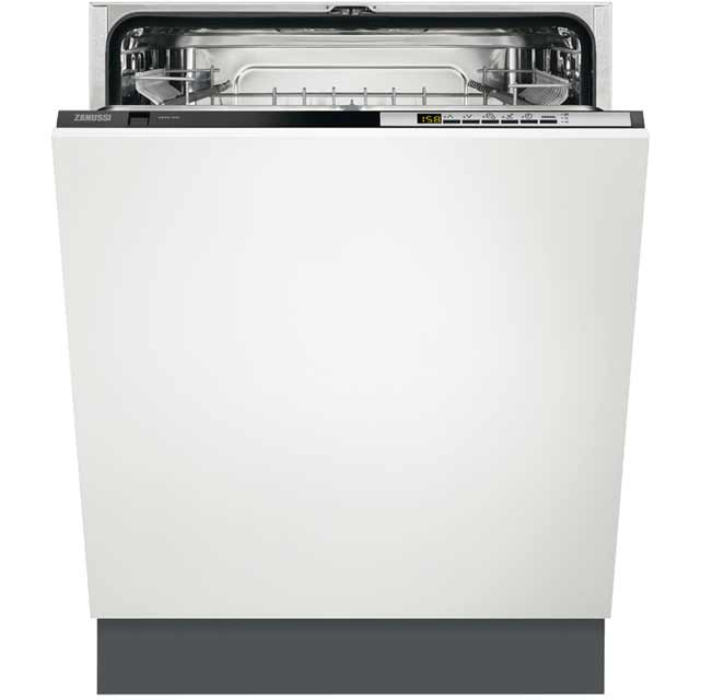 Zanussi ZDT26030FA Fully Integrated Standard Dishwasher - Black Control Panel - A++ Rated