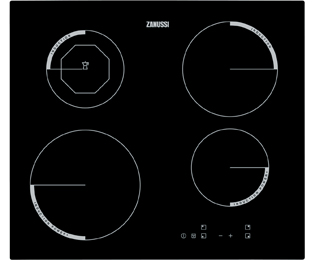 Zanussi ZEI6840FBA Built In Induction Hob - Black - ZEI6840FBA_BK - 1