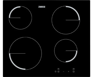 Zanussi ZEV6240FBA Built In Ceramic Hob - Black - ZEV6240FBA_BK - 1