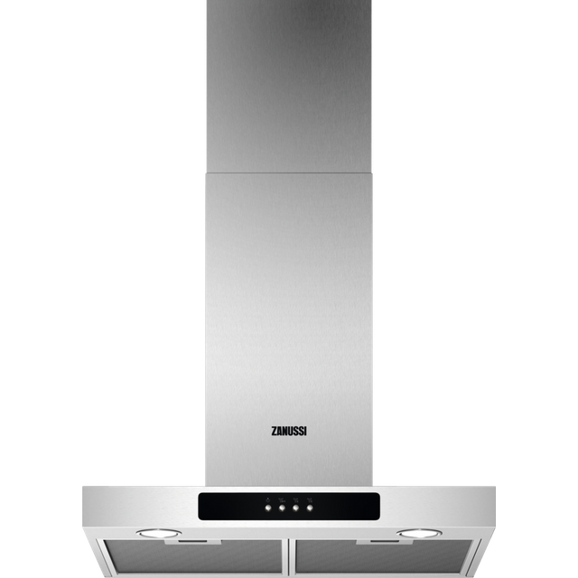 Zanussi ZFT516X Built In Chimney Cooker Hood - Stainless Steel - ZFT516X_SS - 1