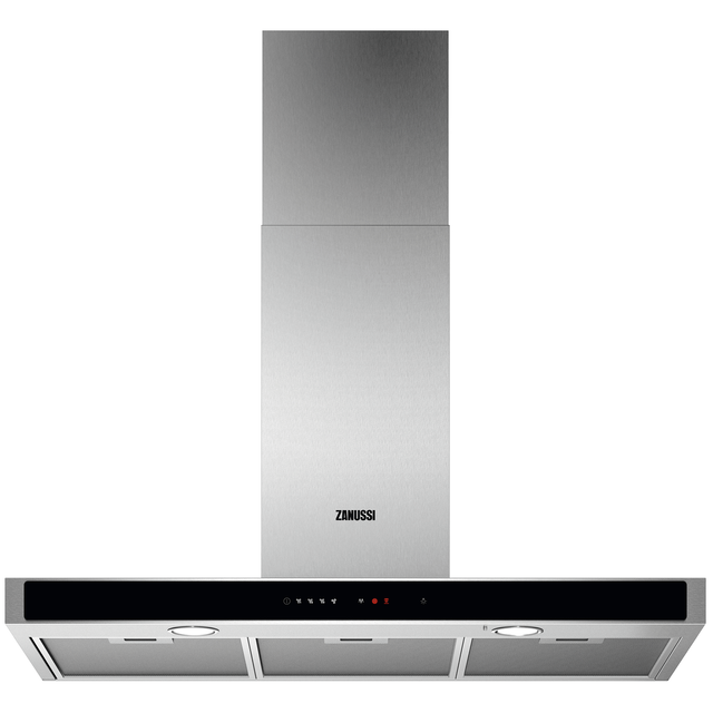 Zanussi ZFT919Y Built In Chimney Cooker Hood - Stainless Steel - ZFT919Y_SS - 1