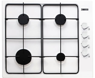 Zanussi ZGG62414WA Integrated Gas Hob in White