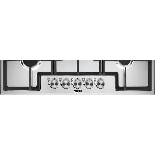 Zanussi ZGH76524XX Built In Gas Hob - Stainless Steel - ZGH76524XX_SS - 2