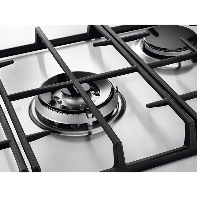 Zanussi ZGH76524XX Built In Gas Hob - Stainless Steel - ZGH76524XX_SS - 3