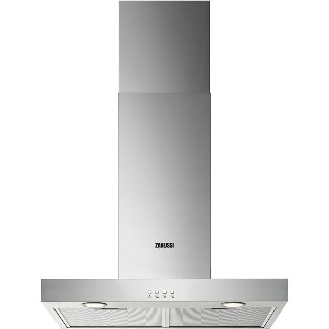 Zanussi ZHB62670XA Built In Chimney Cooker Hood - Stainless Steel - ZHB62670XA_SS - 1